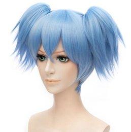 Sala de aula Assassination Shiota Nagisa peruca Cosplay WigFree envio em Promoção