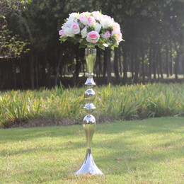 $enCountryForm.capitalKeyWord NZ - New arrival 3 Color metal candle holder candle stand wedding centerpiece event road lead flower rack 52 59 62 70 73 91cm 10pcs lot