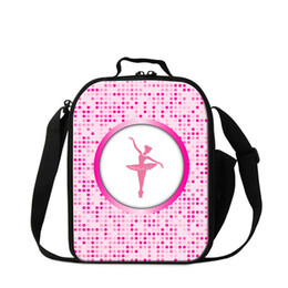 $enCountryForm.capitalKeyWord NZ - Cartoon Ballet Printing Students Meal Lunch Bag Women Portable Food Thermal Cooler Bags For Office Children Small Canvas Lunchbox For School