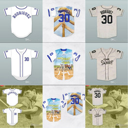 462590aa1 Mike Vitar Benny  The Jet  Rodriguez 30 Baseball Jersey The Sandlot 3D  Print Jerseys Shirt For Men Women Youth Stiched Name  Number