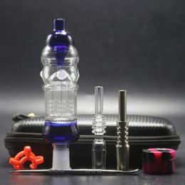 $enCountryForm.capitalKeyWord NZ - 14mm Honey Bird Black Bag Set With 14mm Titanium Nail Quartz Tip Dab Rig Glass Water Pipe Bubbler Bongs for Smoking