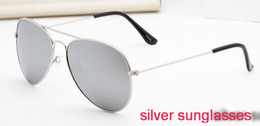 $enCountryForm.capitalKeyWord Australia - 2018 silver 58mm case china luxury fashion brand new Glass lens Men Women pilot Sunglasses Sport Sun glasses With box