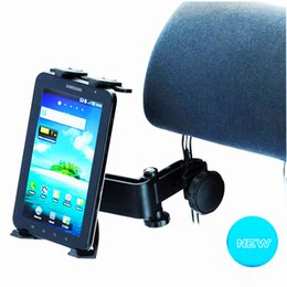 Vente en gros Support de fixation pour appuie-tête de voiture avec degré réglable à 360 ° pour les tablettes - iPad 2/3/4 - iPad Mini, iPad Air / iPad Pro, Samsung Galaxy Tab S2 -