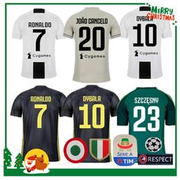 24fcff5bb22 18 19 Juventus RONALDO DYBALA HIGUAIN POGBA soccer jersey 2018 2019 Italy  juve MARCHISIO MANDZUKIC BUFFON home away 3rd man and women shirt