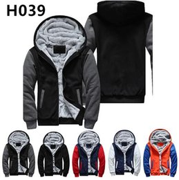 Team Usa Clothing NZ - 2018 USA size Football Team Men Women Thicken Fleece Zipper Hoodie Jacket Clothing Casual Coat