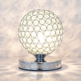 $enCountryForm.capitalKeyWord Australia - Modern Crystal Table Lamps For Bedroom,Living Room,Study,Office Modern Crystal Silver Golden Desk Lamp Free Shipping