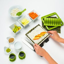 SuShi SetS online shopping - QuickDone Sushi Making Kit Easy to Use DIY Sushi Mold Set Cooking Tools Set For Roll Kitchen Bento KC1638