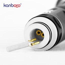 Venta al por mayor de Varilla de calentamiento de cerámica reemplazable de 4 mm 0.2-0.3ohm para Kanboro Ecube Dab Rig Full Kit Wax Concentrate Vaping