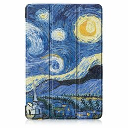 Discount stand pouch tab - For Samsung Galaxy Tab A 10.5 T590 T595 SM-T595 SM-T590 Smart Flip Leather Case Stand Cartoon Slim Tree Pouch Auto Sleep