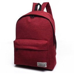 Cross bags for girls online shopping - Brand Canvas Men Women Backpack College Students High Middle School Bags For Teenager Boy Girls Laptop Travel Backpacks