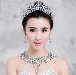 k silk Australia - Bridal Jewelry Crown Alloy Wedding Accessories Hair Accessories Do not fade white K Wang Hao headdress