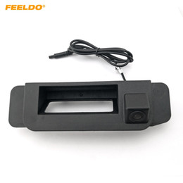 Chinese  FEELDO Car Trunk Handle Backup Rearview Camera for Mercedes Benz W205 C-class 2015 2016 Reverse Camera #2092 manufacturers