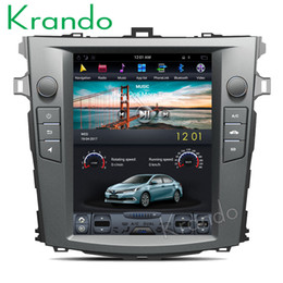 "$enCountryForm.capitalKeyWord Australia - Krando Android 7.1 10.4"" Tesla Vertical screen car dvd multimedia system player for toyota Corolla 2008-2012 audio radio KD-TV025"