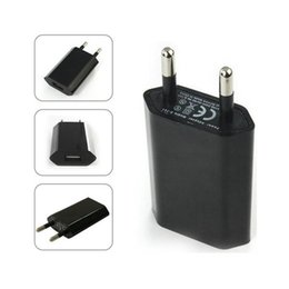 $enCountryForm.capitalKeyWord NZ - Universal Wall Charger EU or US Type Charger USB Charger For Mobile Phone and E Cigarette Battery USB Wall Adapter