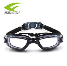 2a2230f358 New FEIUPE Myopia Swim Goggles Swimming Glasses Anti Fog UV Protection  Optical Waterproof Eyewear for Men Women Adults Sport F316