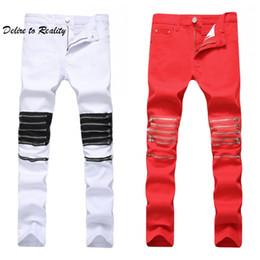 represent clothing 2019 - mens skinny biker jeans silm denim ripped pants New Arrival Hip-Hop Street Ripped Jeans Wholesale-represent clothing JS2
