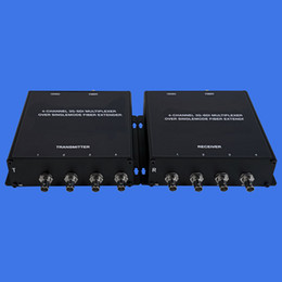 Wholesale 4ports 3G SDI Transceiver, SY-3G-4SDI 4-Channel 3G-SDI Multiplexer Over Singlemode Fiber Extender, Freeshipping NO Minimum Order