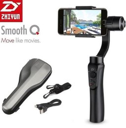"handheld camera stabilizers NZ - Zhiyun Smooth-Q 3-Axis Handheld Gimbal Camera Stabilizer Wireless Control Panorama Mode for Smartphone 3.5"" to 6"" D4623"