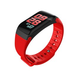 Chinese  F601 Health Bracelet Smart Bracelet Waterproof Fitness Tracker Color Display Screen Bluetooth Smartband Blood Pressure for IOS Android Phone manufacturers
