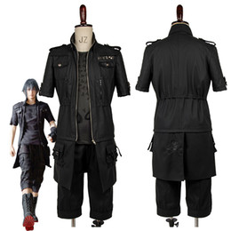 M Earrings NZ - ostume jewelry chandelier earrings Adult Final Fantasy XV FF15 Noctis Lucis Caelum Noct Cosplay Costume Outfit Male Female Custom Made An...