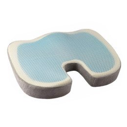$enCountryForm.capitalKeyWord UK - 2018 New Orthopedic Gel Foam Seat Pad Cushion Chair Back Support Comfort Enhanced #NE905