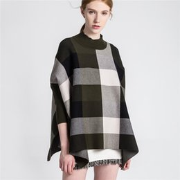 British Hair Styles Australia - New British style in autumn and winter in 2018. A replacement hair for a plaid bat knitted sweater and a woman's sweate