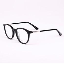 8b816f4f298 HOT SALE optical frames men women 2018 Brand Eyeglasses Retro Fashion style  CA5125 oval metal frame eye glasses spectacles
