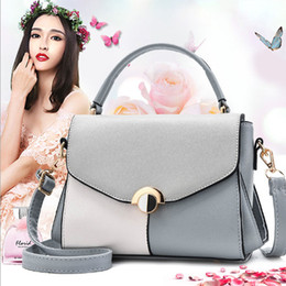 Pink Cosmetics Bags NZ - Women's Fashion New Zipper Lock High Quality PU Shoulder Bag Multi- Functional Travel Shopping Cosmetic Handbag Luxury Girl Message Bag