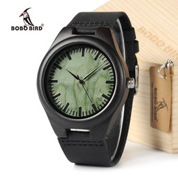 Quality Watch Brands For Men Australia - watch for BOBOBIRD F03 Top Quality Retro Bamboo Wooden Watches Luxulry Brand Designer Watch Leather Band Quartz Watches for Men With Box
