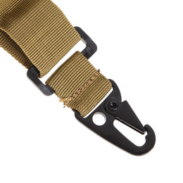 TacTical poinT sling online shopping - 3 Point Rifle Sling Airsoft Hunting Belt Bungee Tactical Military Gun Strap Outdoor Survival Sling Swivels Multifunctional Strap