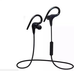 Iphone Stereo Player Australia - New! Bluetooth Headphones Sport Wireless Headset Hook Stereo Music Player Neckband Earphones Jogging Headphones For Iphone 8 With Retail Box