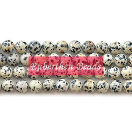 Natural Stone Beads Map Jaspers Round Beads For Jewerly Making Bracelet Necklace Accessories 4 6 8 10 12mm Wholesale Bijoux Various Styles Beads