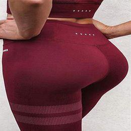 yoga pants stripe 2019 - Female Stripe Yoga Running Fitness Pants Elastic Tights High Waist Sports Leggings Woman Gym Jumping Training Plus Size