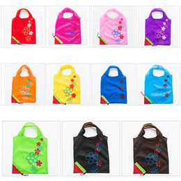 $enCountryForm.capitalKeyWord Australia - New Nylon Portable Creative Strawberry Foldable Shopping Bags Reusable Environmental Protection Pouch Eco-Friendly Shopping Bags Tote Bags