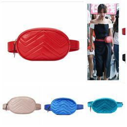 Box clutches online shopping - Women PU Leather Waist Bag Belt Zipper Fanny Pack Crossbody Bag Clutch Bag Colors Sports Travel Wallet Outdoor Bags OOA5171