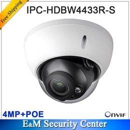 Оригинал 4Мп МПК-HDBW4433R-Ы заменить МПК-HDBW4431R-Ы и IPC-HDBW4421R IP с поддержкой PoE HD сети CCTV ИК купольная IP-камеры видеонаблюдения