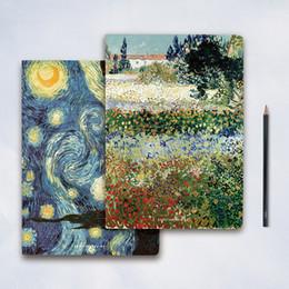 $enCountryForm.capitalKeyWord Canada - 1 pc Van Gogh B5 NotNight Sky Diary Planner NotOffice School Supplies Birthday