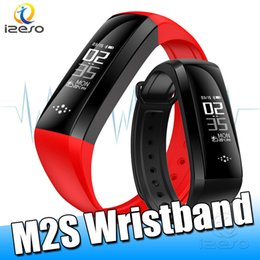 HealtH sport monitor online shopping - M2S Smart Band Fitness Tracker Calorie Counter Sports Bracelet Health Monitor Wristband W h Continuous Heart Rate Sleep Monitor Waterproof