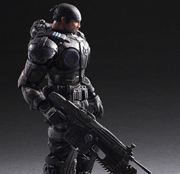 Discount gears tv - gears of Play Arts Marcus Fenix Game Gears of 3 War Machine PA Play Arts Kai 27cm PVC Action Figure