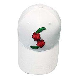 078e8a4af1c Cool stylish Women Men Couple Applique Floral Baseball Cap Unisex Snapback  Hip Hop Flat Hat  0604