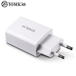 usb power bank adapter UK - wholesale USB Charger Adapter 5V 2A Fast Portable Charger Wall EU Plug Travel Phone Chargers for iPhone iPad Samsung Mobile Device