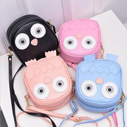 $enCountryForm.capitalKeyWord Canada - Children Cute Purse Handbag Owl Women Messenger Bags For Summer Crossbody Shoulder Bag with Belt Strap Lady Clutch Purses Phone Girls Gifts