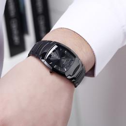 Discount rectangle dial watches men - DALISHI Top Brand Men Watch Simple Rectangle Dial Male Watches Fashion casual Wristwatch Men Business Dress Clock Relogi