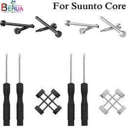 Discount screw fix tools - 100% Original Repair watch Accessory for Suunto Core Stainless Steel Backup fixed Screw Tooling Connection Easy Fit tool