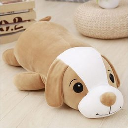 Stuffed Animals For Dogs Canada - Dorimytrader Cute Lying Animal Dog Pillow Toys Soft Stuffed Animals Dogs Doll for Children Gift 90cm 35inch Decoration DY61944