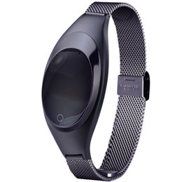 Chinese  The hot blast pressure all metal high-end smart Bracelet watches Android Apple IOS exercise heart rate for men and women manufacturers