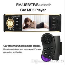 $enCountryForm.capitalKeyWord NZ - 1 Din Car Radio Mp5 Player 4.1 inch Universal TFT Digital Screen 1 Din Car Radio Bluetooth with Steering Wheel Remote Control
