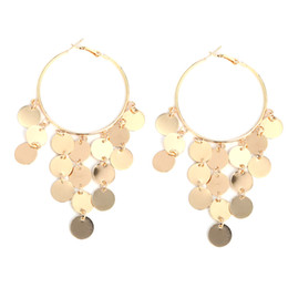 Jewelry & Accessories Douvei Womens Round Vintage Indian Jhumka Gypsy Drop Earrings Summer Small Circles Ladies Dangle Earrings Fashion Jewelry Choice Materials