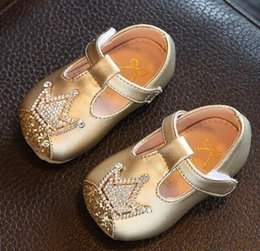 $enCountryForm.capitalKeyWord NZ - 2018 New Water drill style Spring baby girl Shoes Toddler baby party Shoes PU leather Princess shoe Hot Sale kids dress