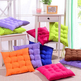 Green Office Chairs Australia - Beautiful Candy Colours Seat Cushion Coussin Dot Cushions Home Decor New Cheap Outdoor Cushions Office Chair Cushion Sofa Pillow